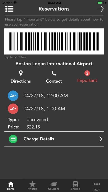 PreFlight Airport Parking screenshot-4