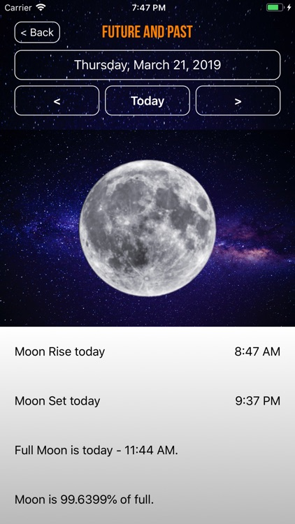 Moon Phase Plus Professional screenshot-4