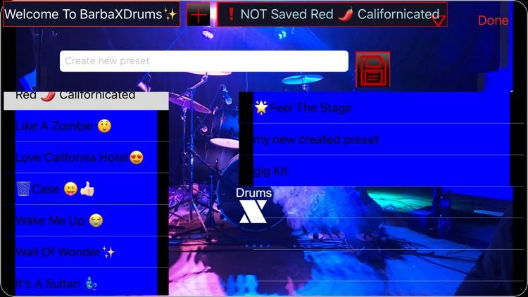 BarbaXDrums screenshot-3