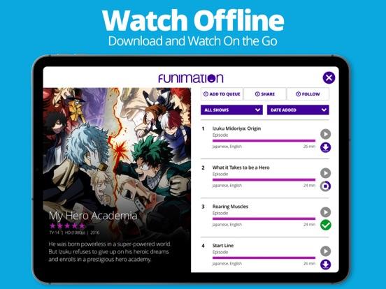 iPad Image of Funimation
