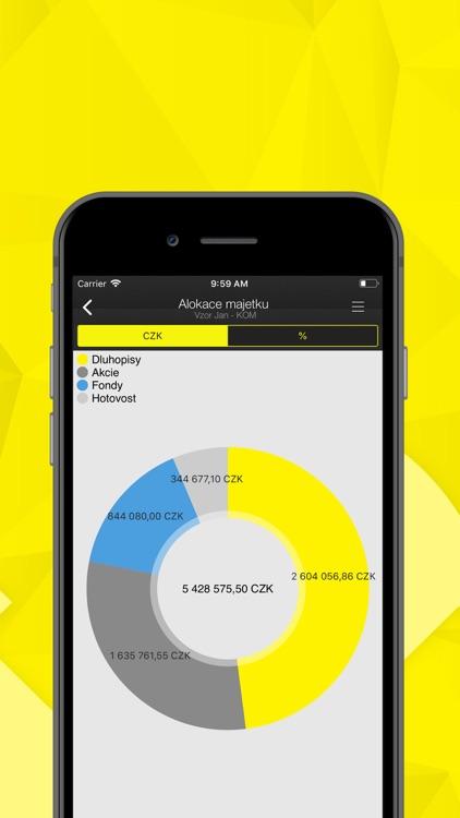Raiffeisenbank Mobilní RBroker screenshot-3