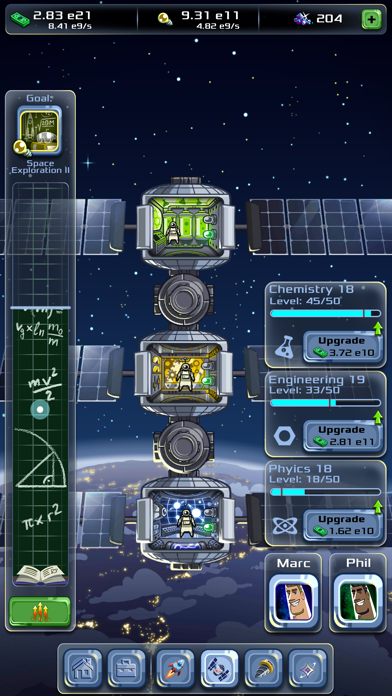 Idle Tycoon: Space CompanyScreenshot von 3