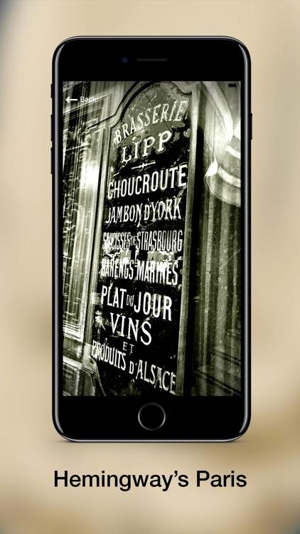 Hemingway in Paris screenshot-3