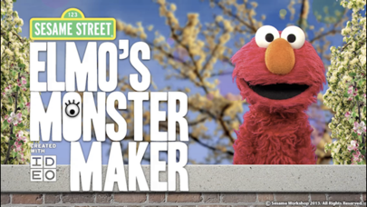 Elmo's Monster Makerのおすすめ画像1