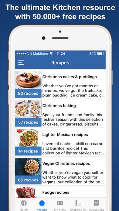 Cookbook - Cooking recipes Screenshot