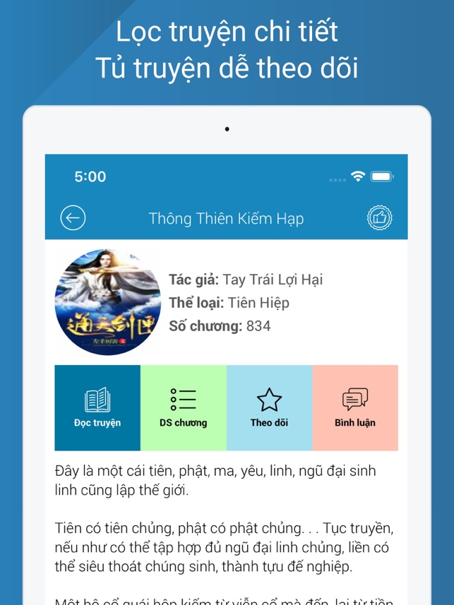 Truyện Convert on the App Store