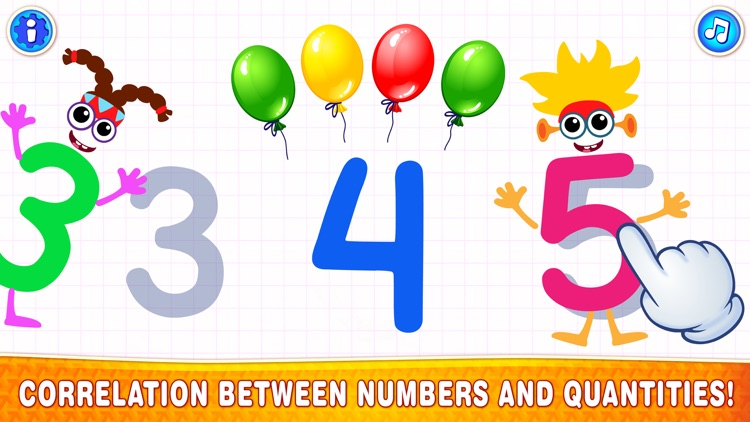 123 Counting Number Kids Games screenshot-4