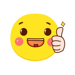 Yellow wave emoticon pack