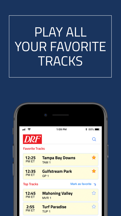 Negative Reviews: DRF - Horse Race Betting App - by Daily