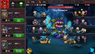 Lords Royale: RPG Clicker screenshot 1