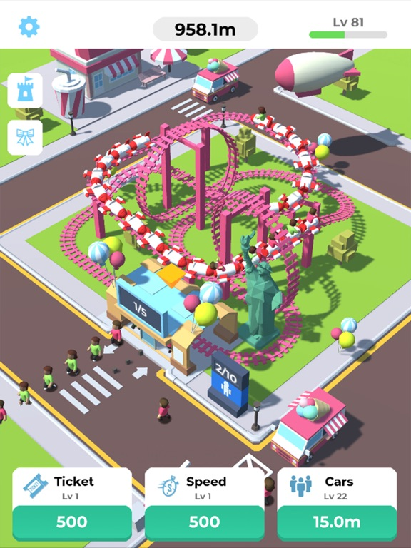 Idle Roller Coaster screenshot 6