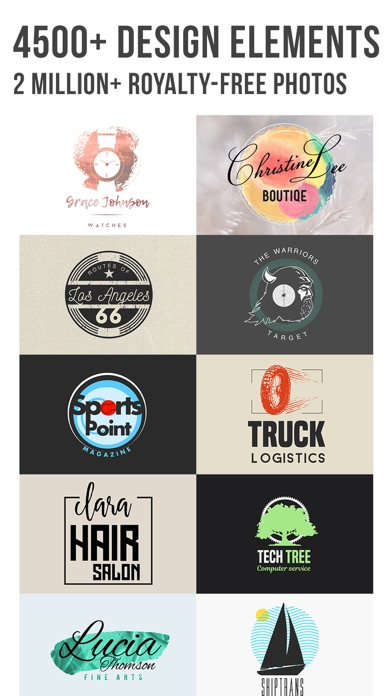 Logo Maker: Vintage Design Screenshot