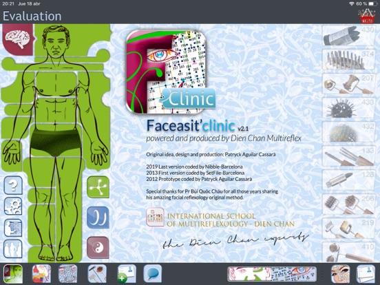 FACEASiT'clinic screenshot one