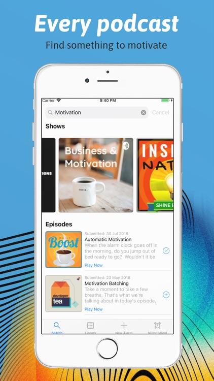 Podcast Alarm screenshot-3