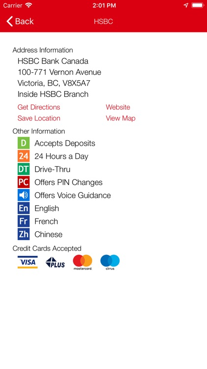 HSBC ATM Locator by Ficanex Services LP
