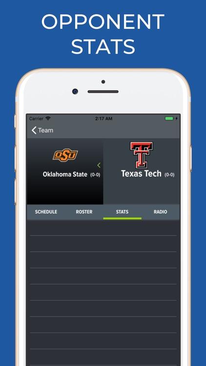 Texas Tech Football Schedules screenshot-7