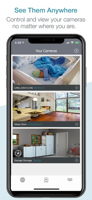 DLink IP Camera Viewer by OWLR on the App Store