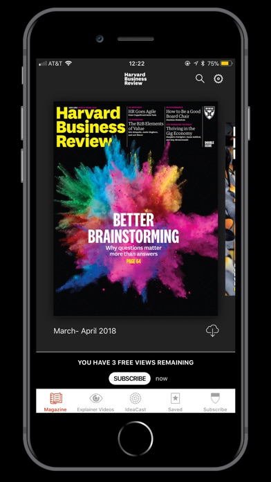 Screenshot for HBR Global in United Arab Emirates App Store