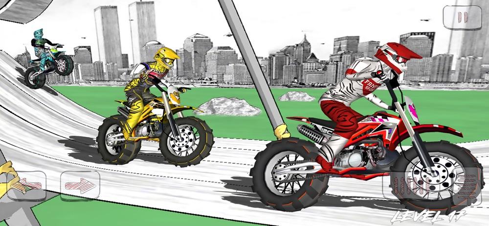 Dirt Bike Sketchy Race hack tool
