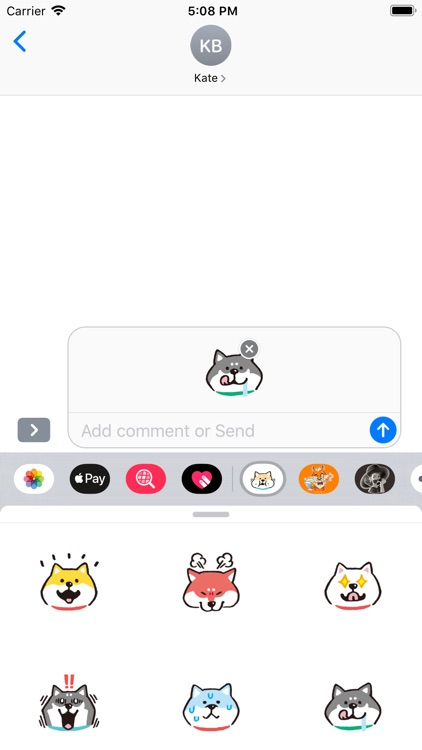 柴犬贴纸 screenshot-4