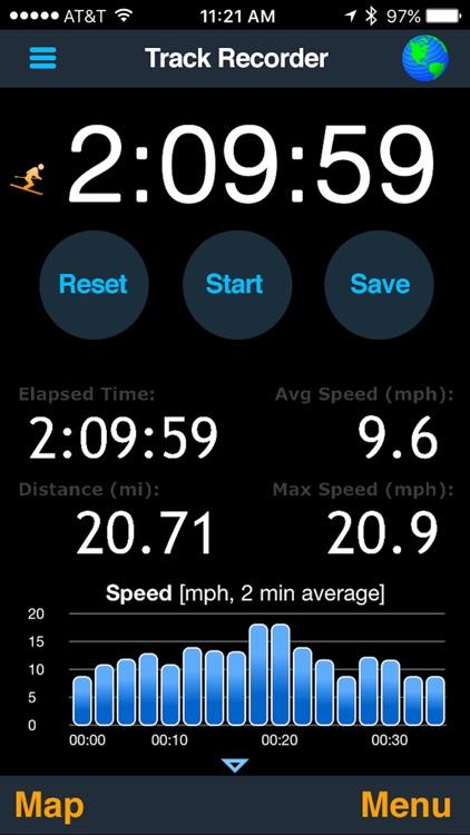 MotionX GPS screenshot-0