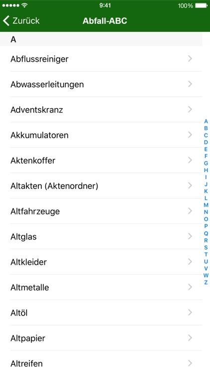 Abfall App OL screenshot-4