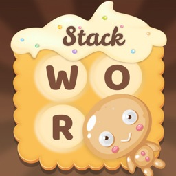 Stack Cookies Word Puzzle Game