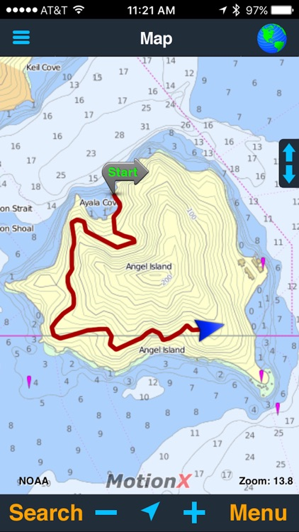 MotionX GPS screenshot-3