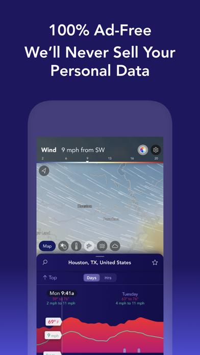 Weather: Saildrone Forecast Screenshot