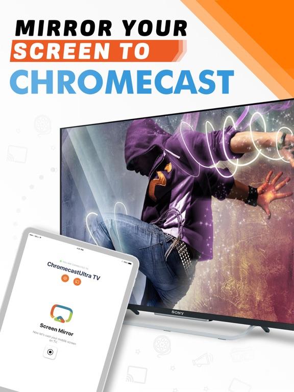 Mirroring for Chromecast TV Screenshots