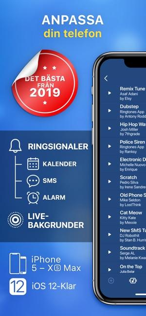 ringsignaler gratis 2019