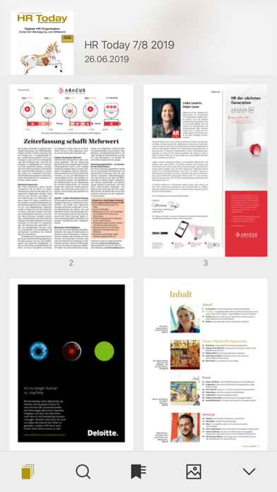 HR Today Magazin screenshot three