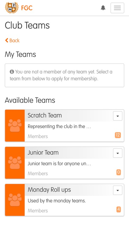 ClubV1 Members Hub screenshot-7
