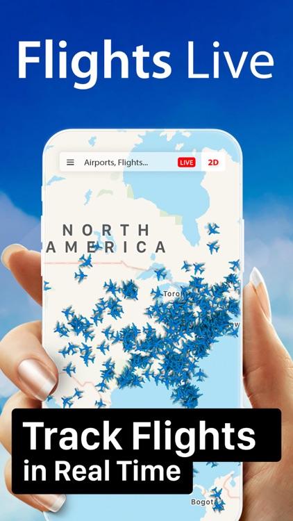 Flight Live: Flightradar screenshot-0