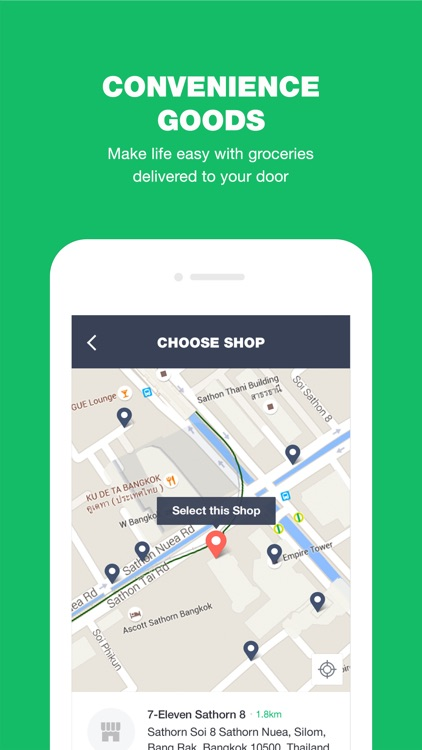 LINE MAN: Taxi, Food, Postal screenshot-4