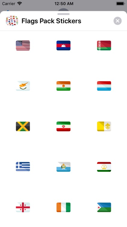 Flags Pack Stickers