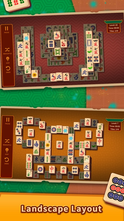 Mahjong Solitaire Puzzles screenshot-3