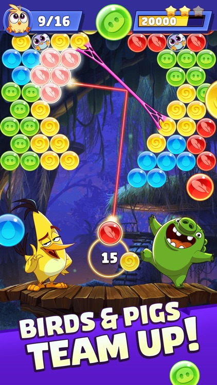 Angry Birds POP Blast screenshot-0