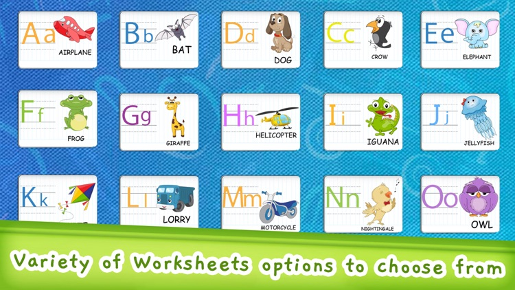 EduLand Tracing Abc Worksheets screenshot-5