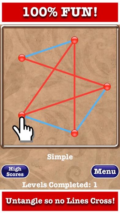 Untangle Jewels™ screenshot one