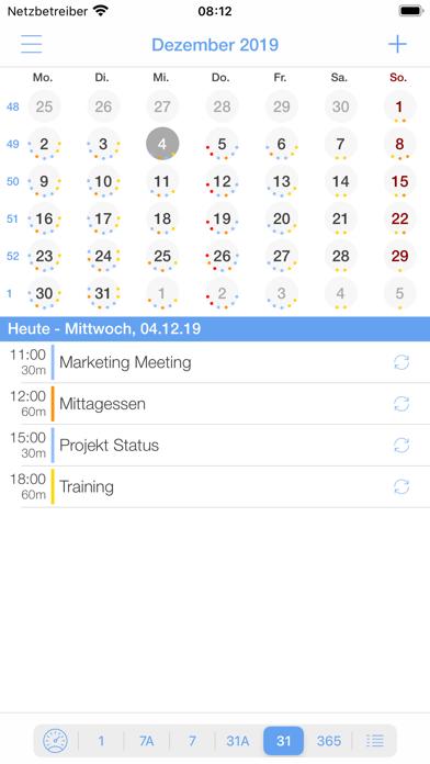 miCal - der KalenderScreenshot von 9