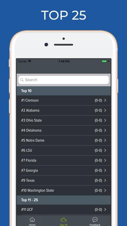 USC Football Schedules screenshot-5