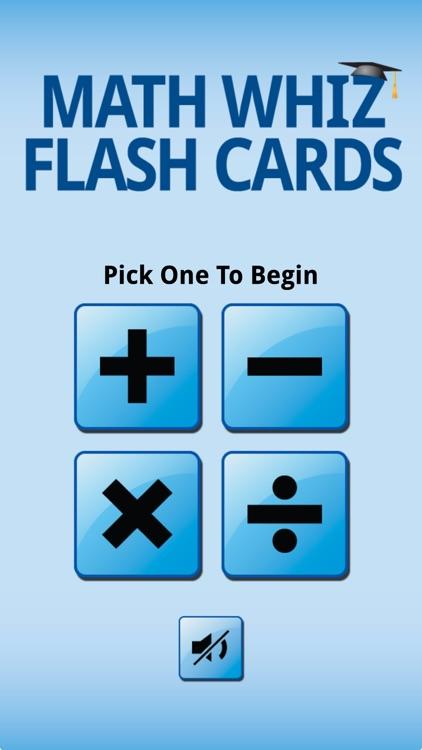 Math Whiz Flash Cards