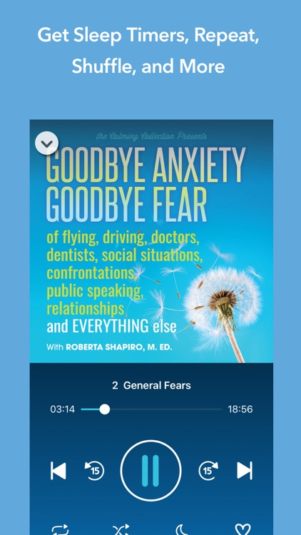 Goodbye Anxiety, Goodbye Fear