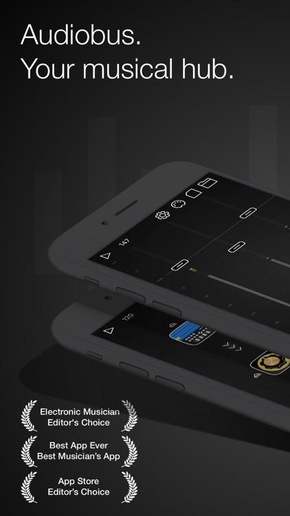 Audiobus: Mixer for music apps screenshot-0