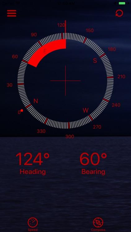 BoatSpeed: Course & Speed° screenshot-5