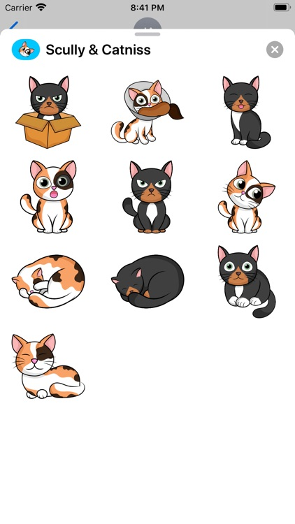 Scully and Catniss Stickers
