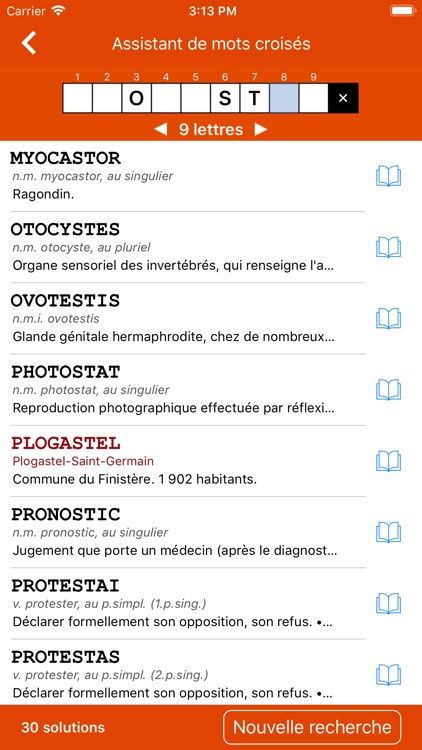 Dictionnaire Le Robert Mobile screenshot-9