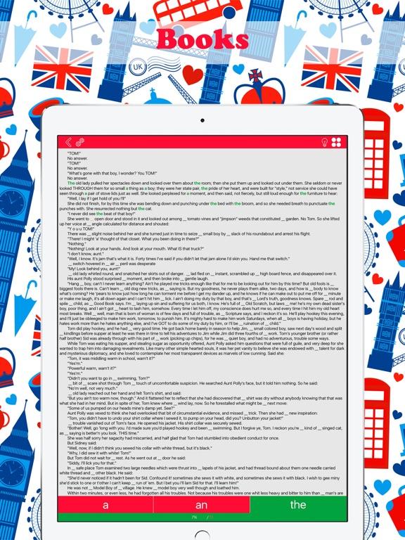 English Articles: Pro Screenshots