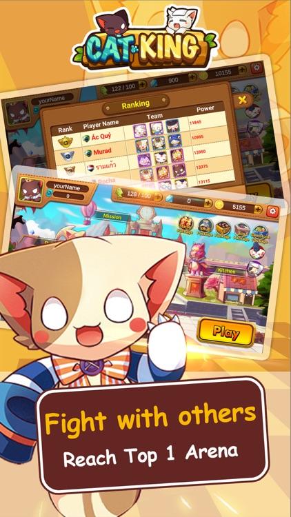 Cats King - Battle Dog Wars screenshot-3